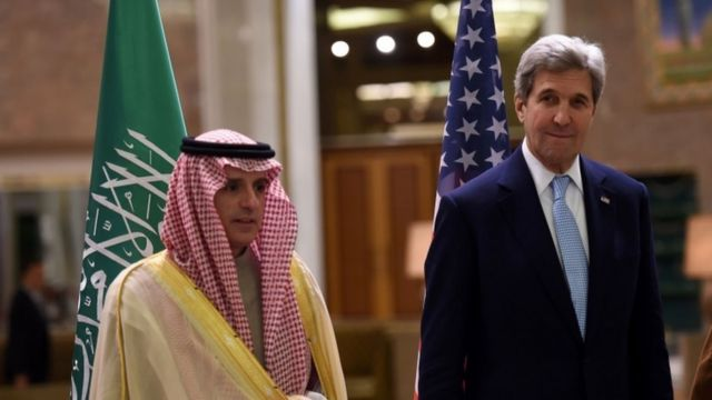 يزور كيري الرياض للمشاركة في اجتماع رباعي لمناقشة الوضع في اليمن