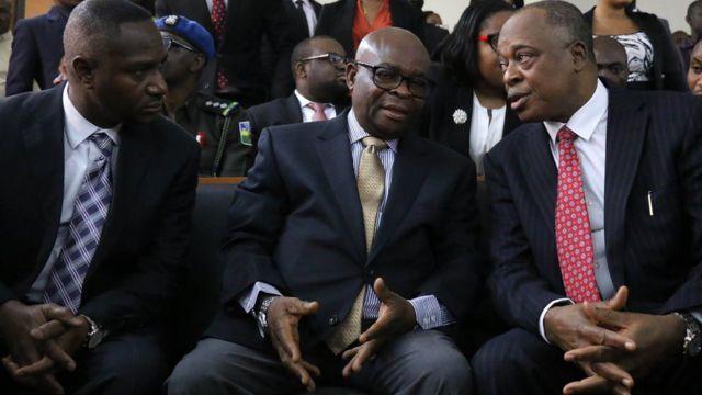Nigeria's top judge Walter Onnoghen found guilty