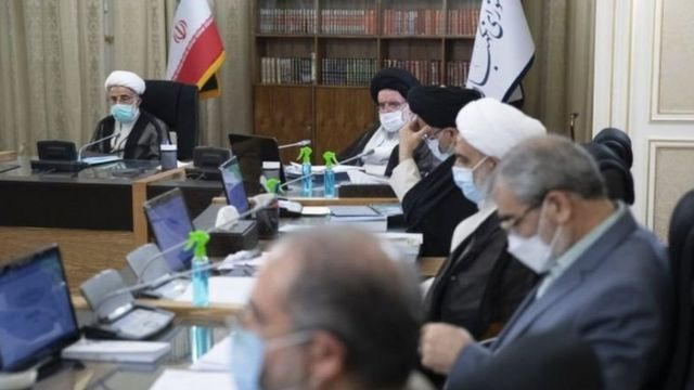 شورای نگهبان ناظر انتخابات ریاست جمهوری ایران است
