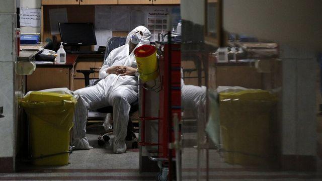 پرستاری در حال استراحت