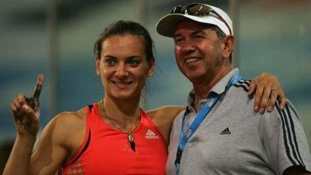 Petrov e Yelena Isinbayeva