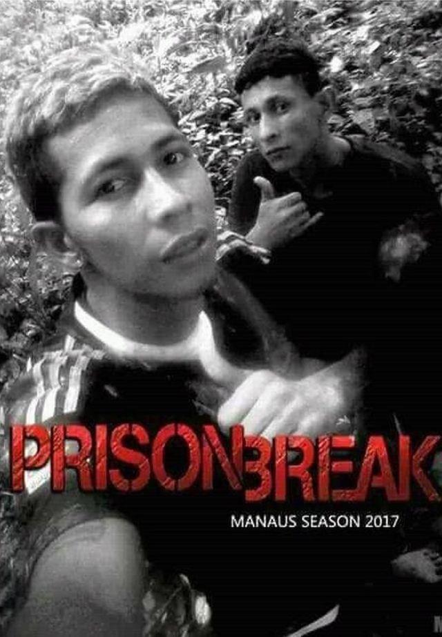 """Brayan Bremerin çəkdiyi şəkil """"Həbsxanadan qaçış"""" (Prison Break) televiziya seriayalının afişasına bənzədilib"""