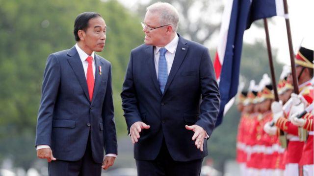 Joko Widodo and Scott Morrison meet in Indonesia in August