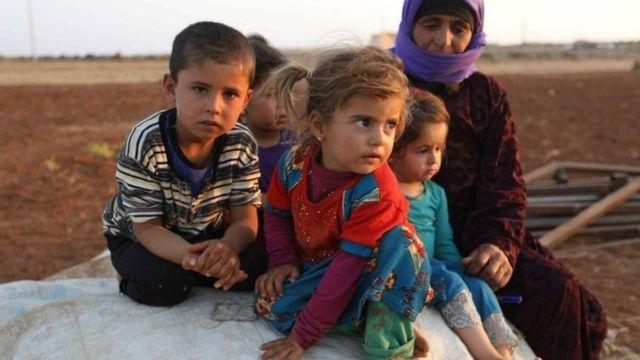 Hơn một nửa số thường dân tại Idlib là người tị nạn từ nơi khác đến