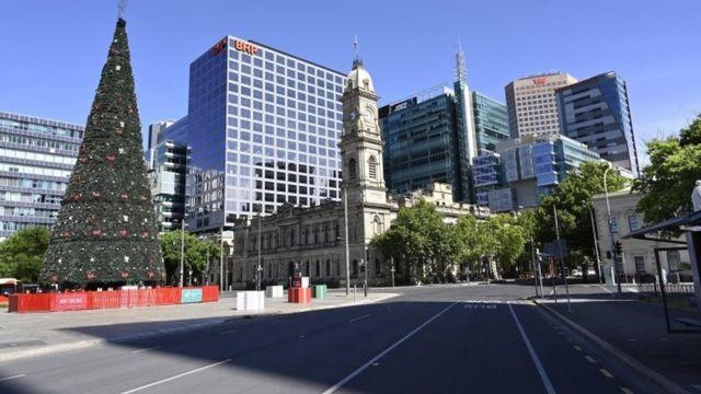 مدينة أديلايد في ولاية جنوب استراليا