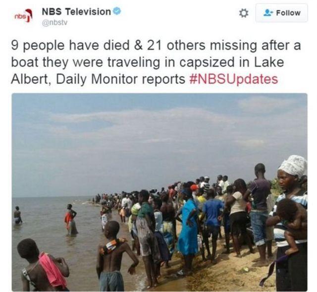 स्थानीय टीवी चैनल से जारी की गई ख़बर और तस्वीर