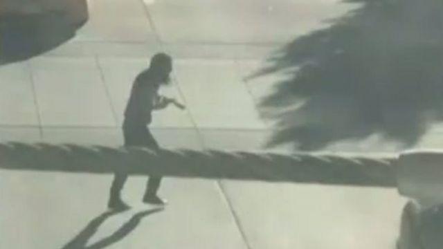 Vídeo do ataque