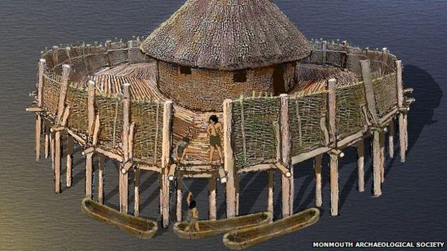 Ancient fort found under Monmouthshire housing estate
