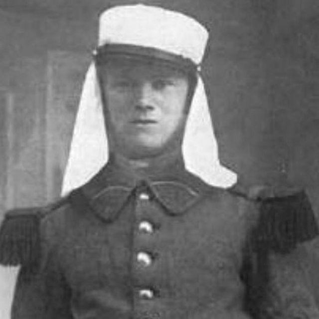Sindberg in Foreign Legion uniform, 1931