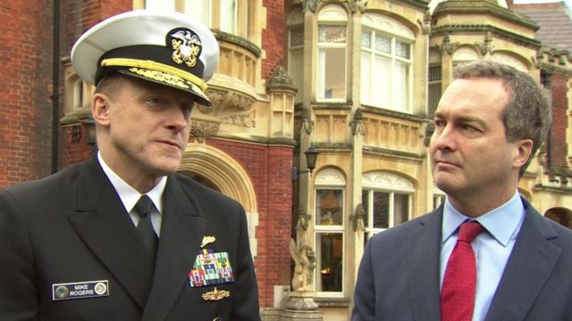 Mike Rogers, NSA and Robert Hannigan, GCHQ
