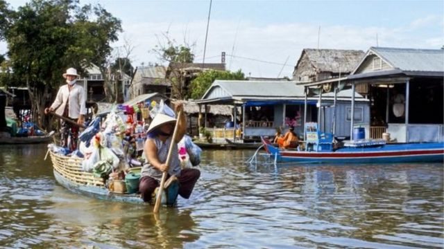 10.000 người gốc Việt sinh sống ở vùng Tonle Sap thuộc tỉnh Kampong Chhnang