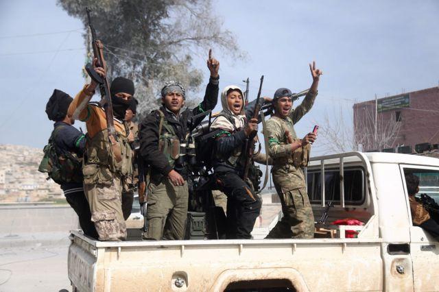 сирийские бойцы