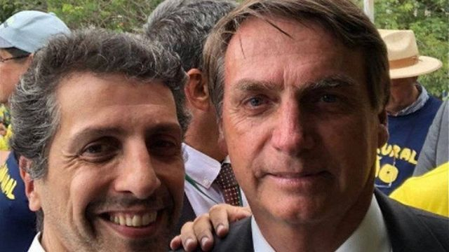 Joaquim Álvaro Pereira Leite e Jair Bolsonaro