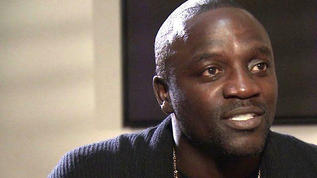 Senegalese born hip-hop musician Akon