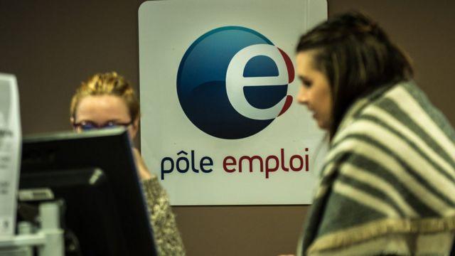 フランス北部リールの職業安定所で