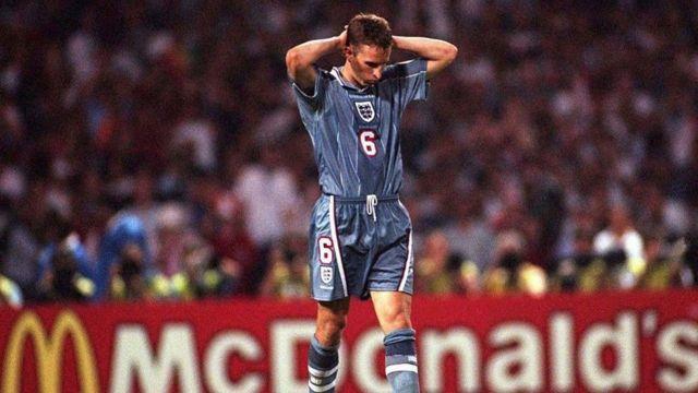 Southgate regrette son penalty manqué contre l'Allemagne à l'Euro 1996