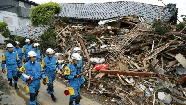 Abapolisi baje gufasha muri Mashiki, Kumamoto
