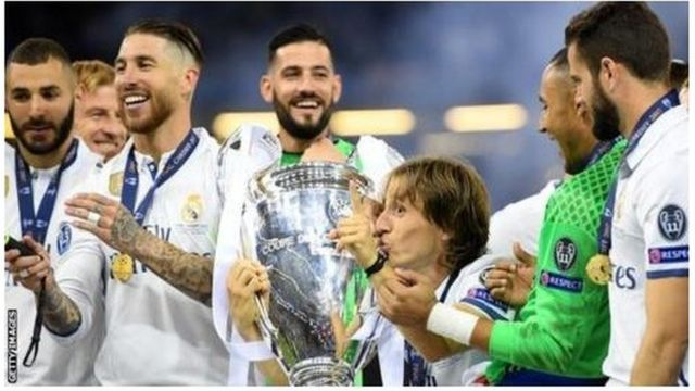 Real Madrid don win di Champions League 12 times