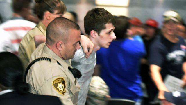 La policía captura a Sandford