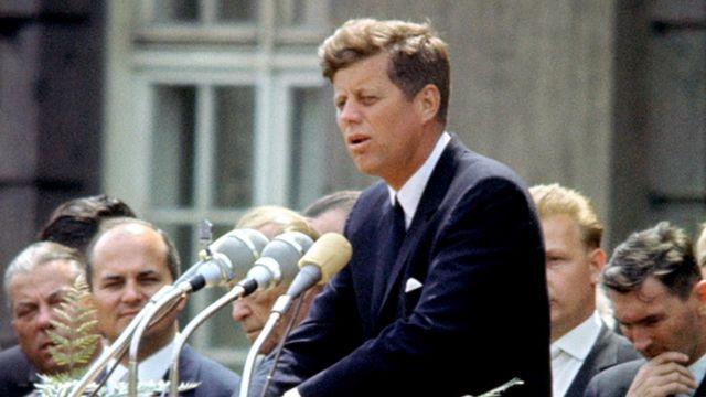 John F. Kennedy en Berlín