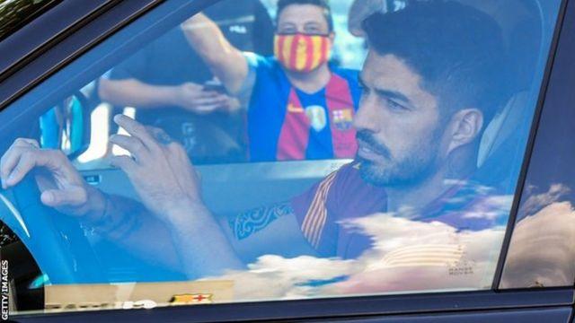 Luis Suarez ageze mu myitozo ya Barcelona