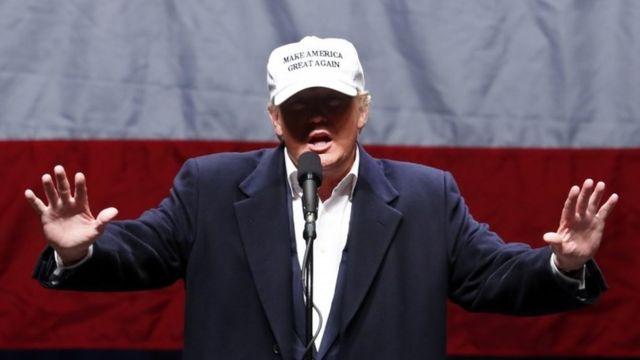 Donald Trump, Sterling Heights, Michigan