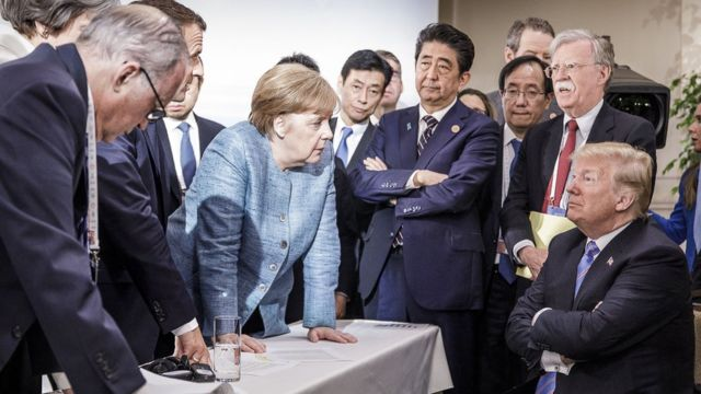 Трамп на G7