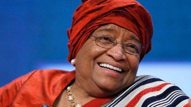 Rais wa zamani wa Liberia Ellen Johnson Sirleaf