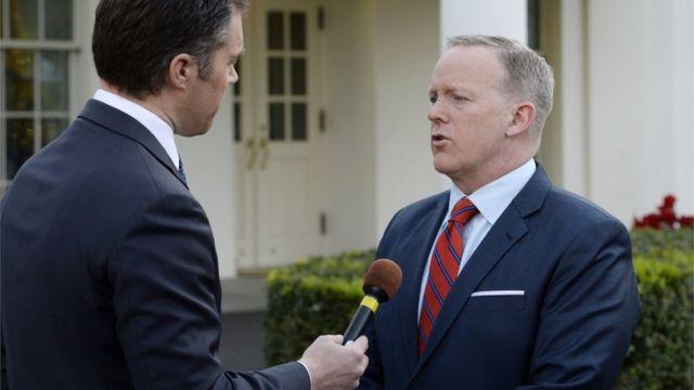 Sean Spicer, hitler, us, syria