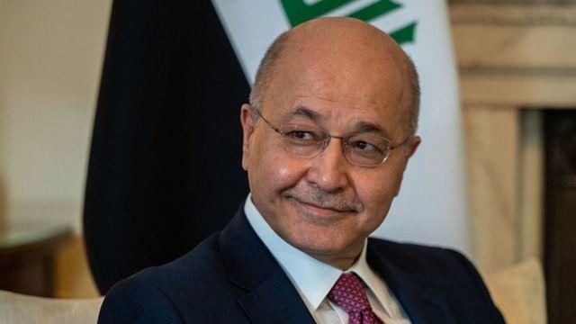 Irak Cumhurbaşkanı Berham Salih