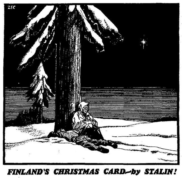 """""""Рождественская поздравительная карточка"""" от Сталина"""