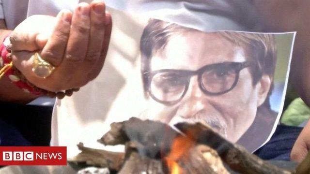 """Jilaaga caanka ah Amitabh Bachchan """"Cali Dheere"""" oo ka bogsaday korona"""