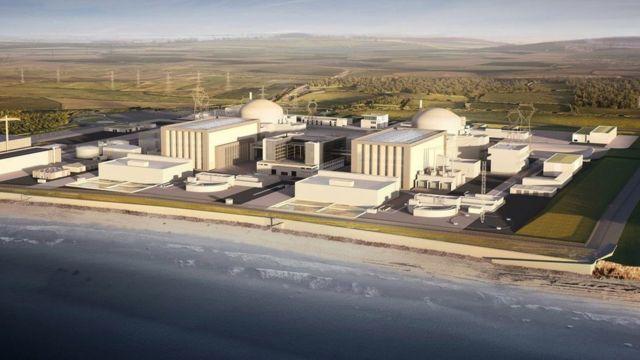 """Так будет выглядеть АЭС """"Хинкли Пойнт"""" согласно планам EDF"""