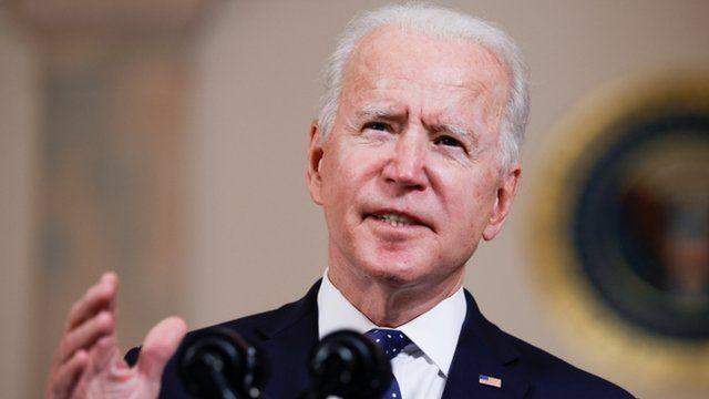Joe Biden habla desde la Casa Blanca