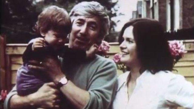 Georgi Markov with his family