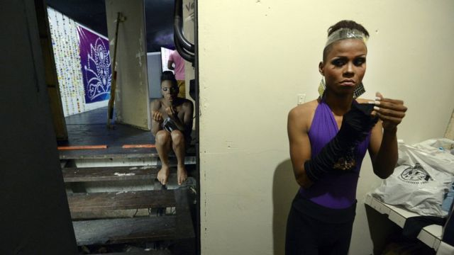 Concurso LGBT de belleza en Venezuela.