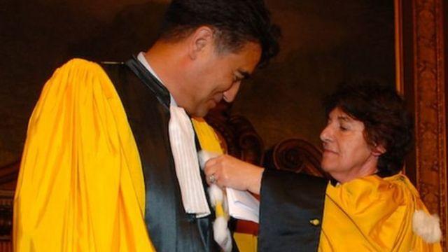Tiyip menerima penghargaan dari universitas di Paris EPHE pada 2008.