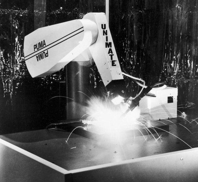 Робот Unimate General Motors