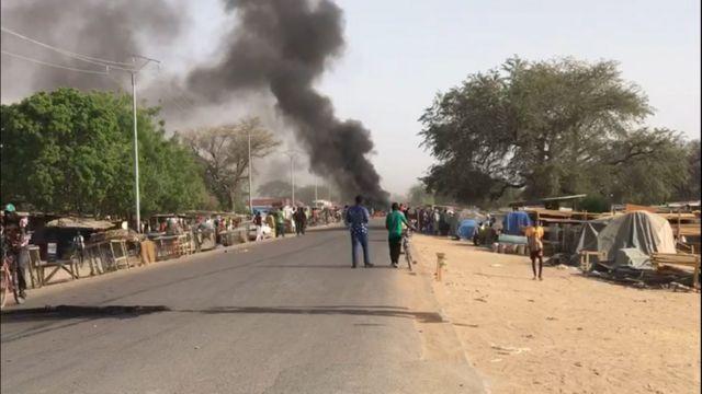 tchadDes tirs sont entendus depuis mardi matin