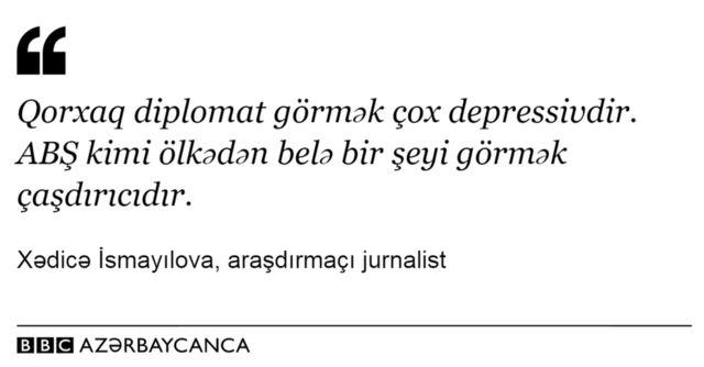 Xədicə İsmayılovadan sitat