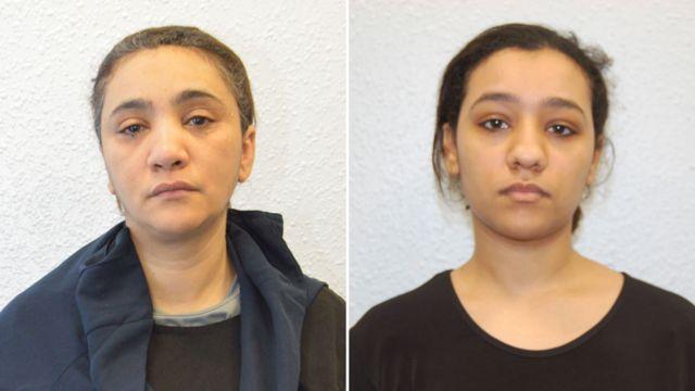 Мать (слева) и сестра Булар