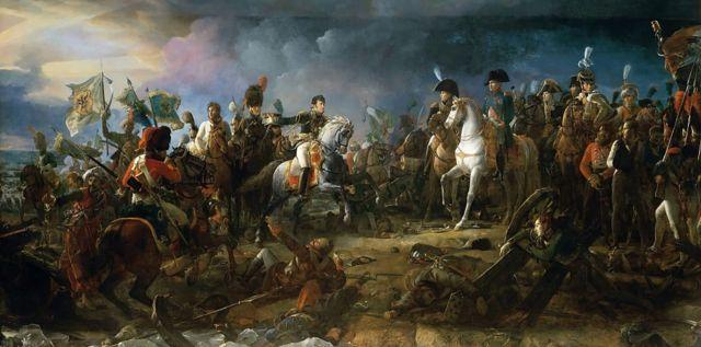 "Картина ""Битва под Аустерлицем 2 декабря 1805 года. Франсуа Жерар"