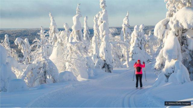 qış, finlandiyada qış