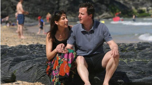 Samantha e David Cameron 2008
