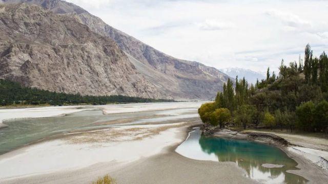 El río Shyok