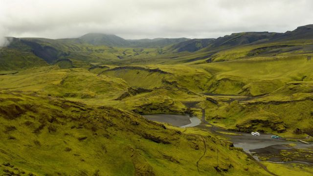 El valle del Eldgjá en Islandia (Foto: Borvan53/Wikimedia Commons)