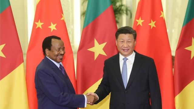 Paul Biya et Xi Jinping, le 31 août 2018 à Pékin