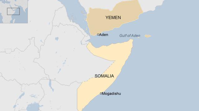 MAP ka Yemen iyo Somalia