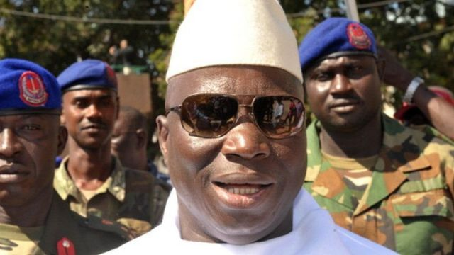 Yahya Jammeh yagiye ku ntwaro ahiritse ubutegetsi mu 1994