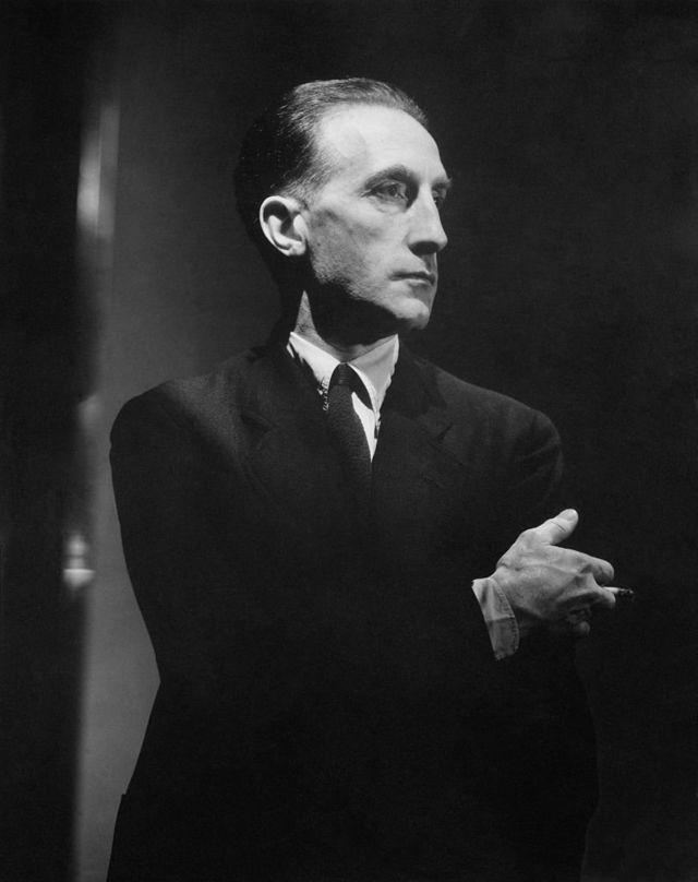 Марсель Дюшан. Фото из журнала Vanity Fair. 1934 г.